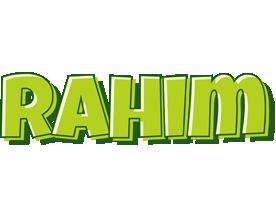 Rahim summer logo