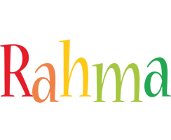 Rahma birthday logo