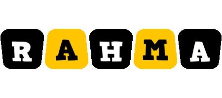 Rahma boots logo