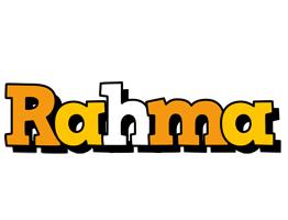 Rahma cartoon logo
