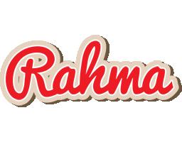 Rahma chocolate logo