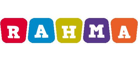 Rahma daycare logo