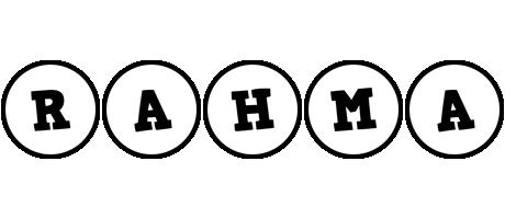 Rahma handy logo