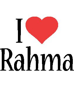 Rahma i-love logo