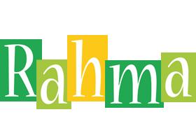 Rahma lemonade logo