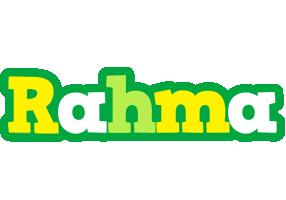 Rahma soccer logo