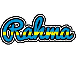Rahma sweden logo