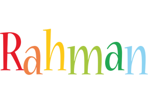 Rahman birthday logo