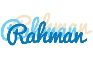 Rahman breeze logo
