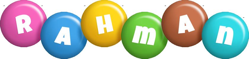 Rahman candy logo
