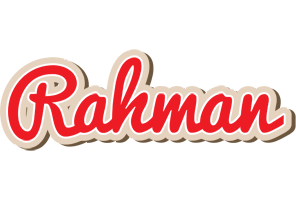 Rahman chocolate logo