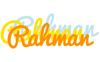 Rahman energy logo