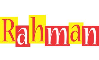 Rahman errors logo