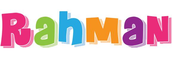 Rahman friday logo