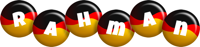 Rahman german logo