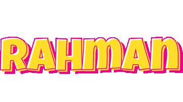 Rahman kaboom logo