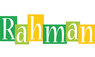 Rahman lemonade logo