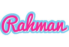 Rahman popstar logo