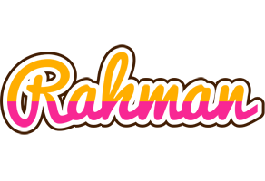 Rahman smoothie logo