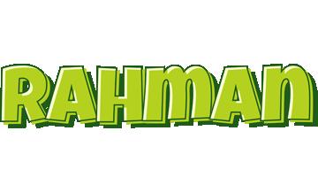 Rahman summer logo
