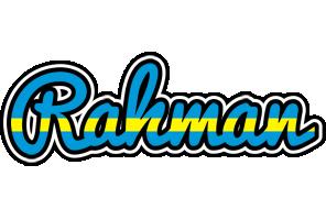 Rahman sweden logo