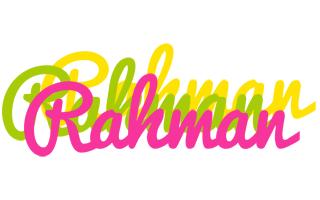 Rahman sweets logo