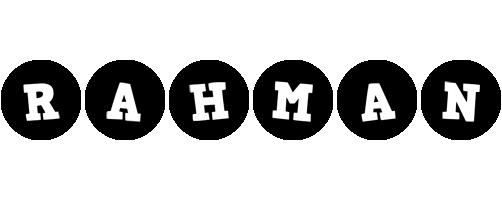 Rahman tools logo