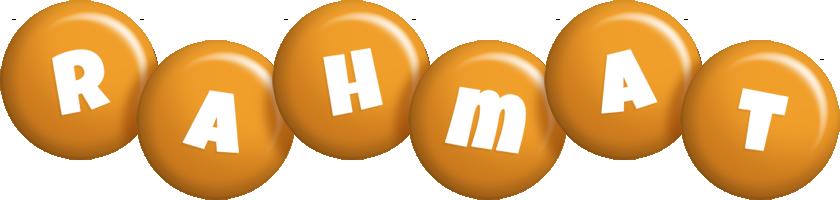 Rahmat candy-orange logo