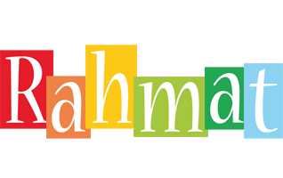 Rahmat colors logo