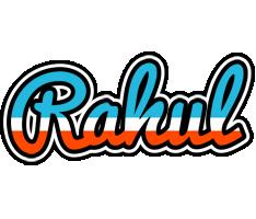 Rahul america logo