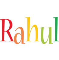 Rahul birthday logo
