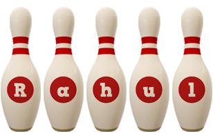 Rahul bowling-pin logo