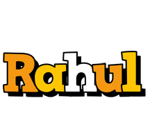 Rahul cartoon logo