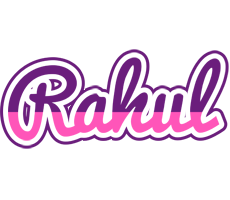 Rahul cheerful logo