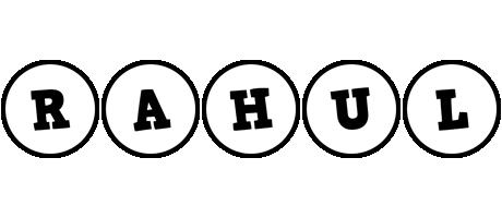 Rahul handy logo