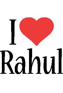 Rahul i-love logo