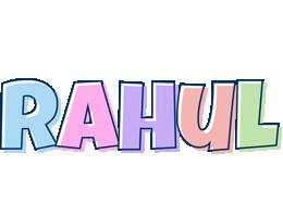 Rahul pastel logo