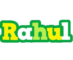 Rahul soccer logo