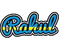 Rahul sweden logo
