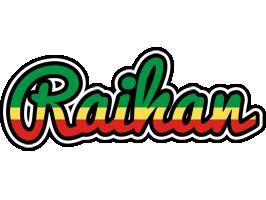 Raihan african logo