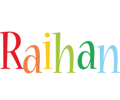Raihan birthday logo