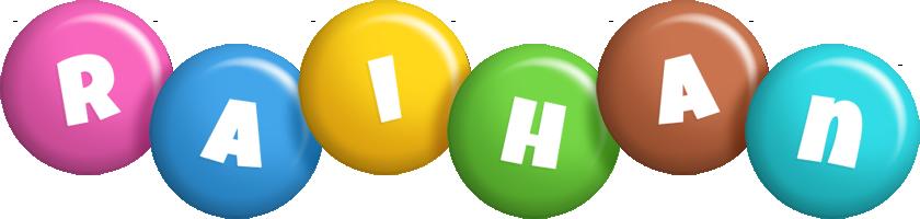 Raihan candy logo