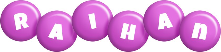 Raihan candy-purple logo
