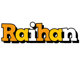 Raihan cartoon logo