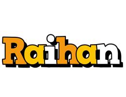 Raihan cartoon logo