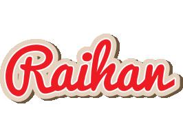 Raihan chocolate logo