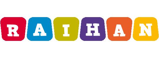 Raihan daycare logo
