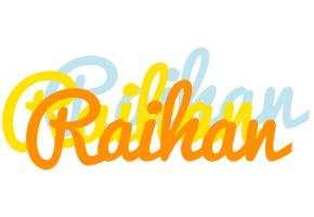 Raihan energy logo
