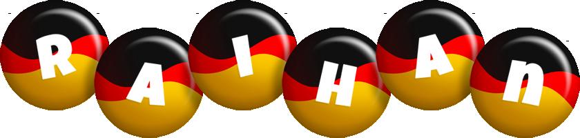 Raihan german logo