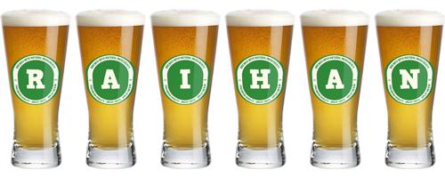 Raihan lager logo